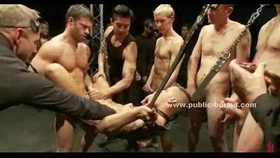 bdsm  blonde gay  bondage