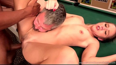 ambisexual   blonde gay   cum eating
